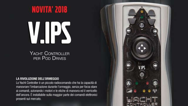 Yacht Controller compatible with Volvo Penta IPS