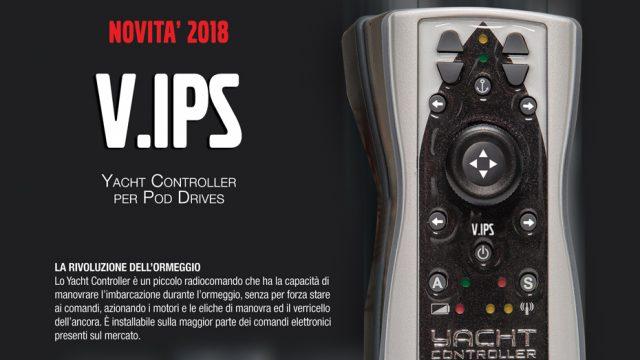 V.IPS – NOVITA' 2018 – per Yacht Controller